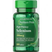 Puritan's Pride Selenium 200 mcg 100 tabs